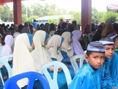 กิจกรรมส่งเสริมความสัมพันธ์โรงเรียนกับชุมชนในจังหวัดชายแดนภาคใต้
