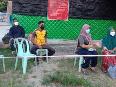 ผู้มากักตัวศูนย์ LQ ประจำตำบลลุโบะบือซา