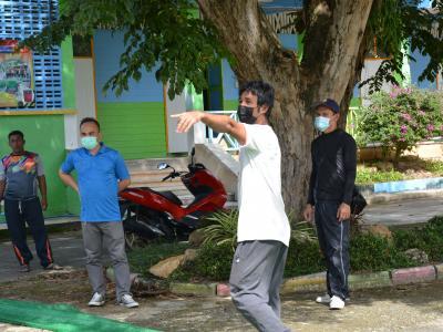 กิจกรรมจัดเตรียมสถานที่กักกัน LQ ประจำตำบลลุโบะบือซา(แห่งที่2)